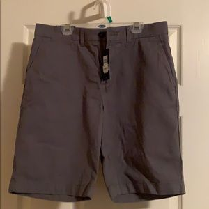 New Tommy Hilfiger Gray Classic Fit Chino Shorts31